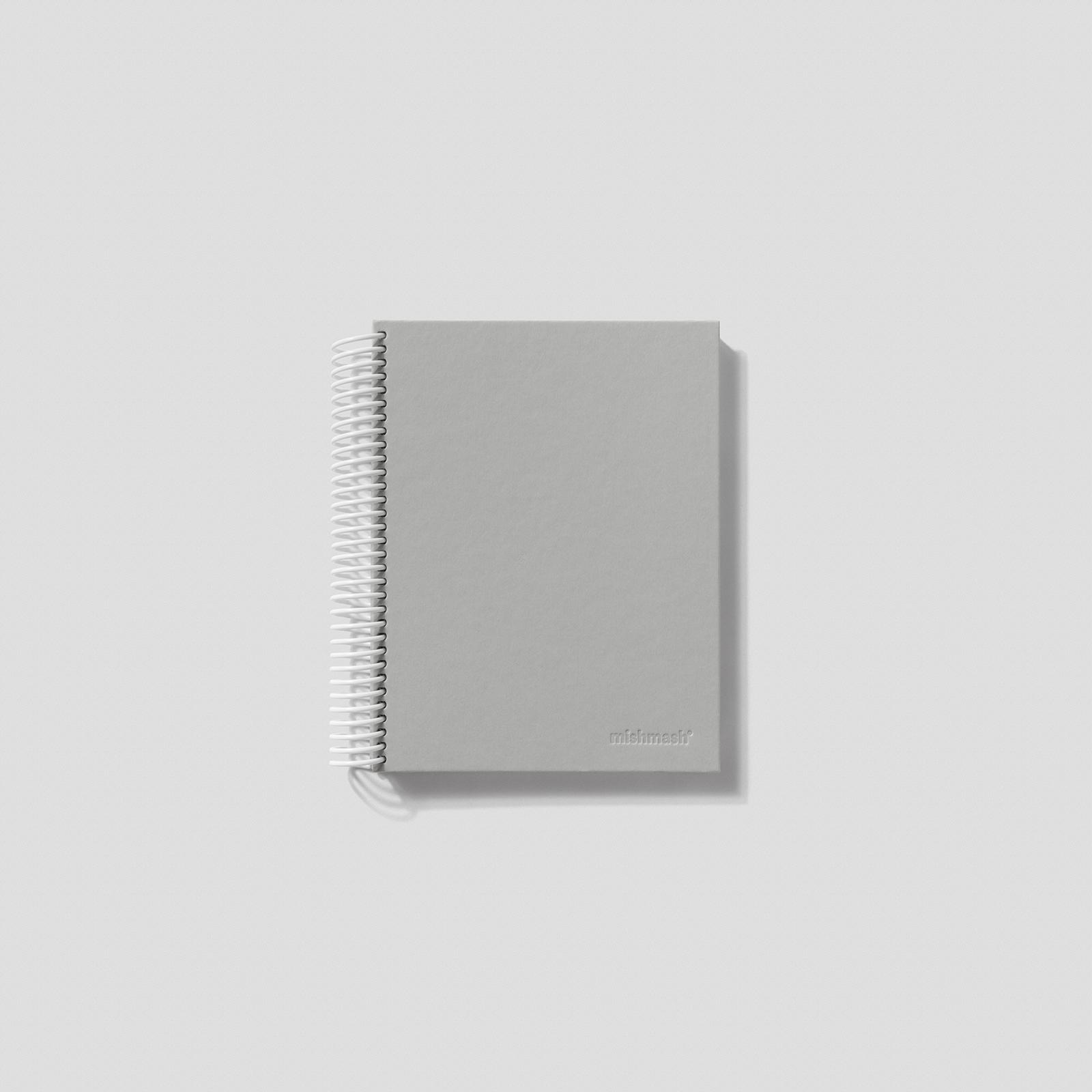 Mishmash Спиральный блокнот Easy Breezy Grey
