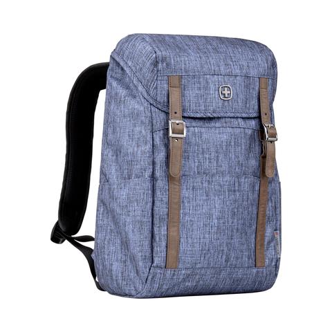Городской рюкзак синий 16 л WENGER Cohort 605201