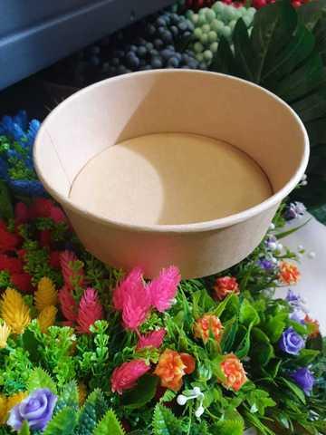 Крафт супница для букетов