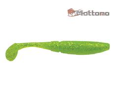 Виброхвост  Mottomo Typhoon 7,5см Chartreuse Glitter 8шт.