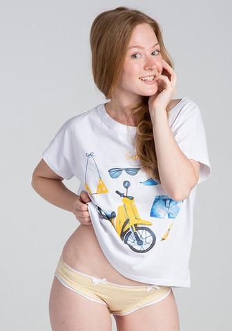 Стильная футболка и трусики