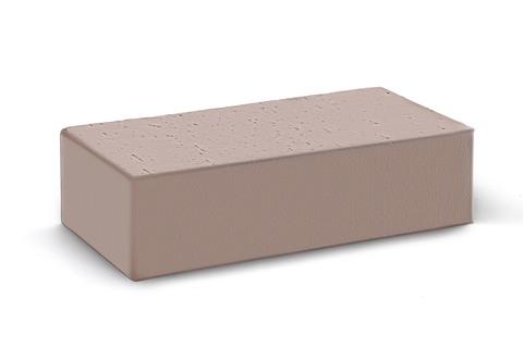 Полнотелый кирпич Камелот темный шоколад 250×120×65 мм