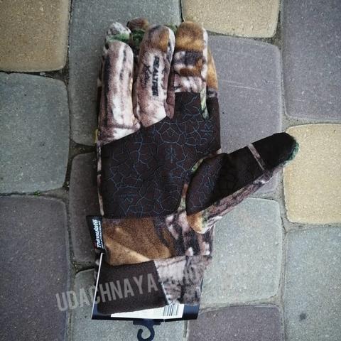 Теплые флисовые перчатки
