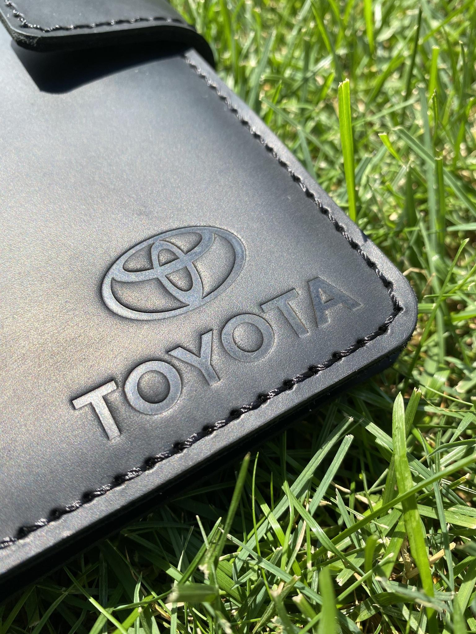 Портмоне Toyota для автодокументов и паспорта
