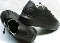 Низкие кеды демисезонные женские Rozen M-520 All Black.