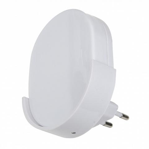DTL-316 Овал/White/Sensor Светильник-ночник. С фотосенсором (день-ночь). Белый. ТМ Uniel
