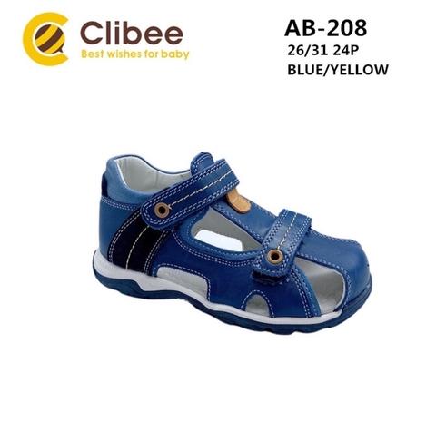 Clibee AB-208 Blue/Yellow 26-31