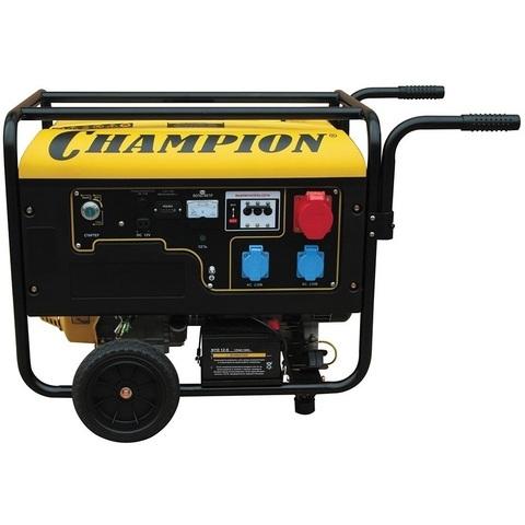 Электроагрегат путевой бензиновый АБ6 двигатель Champion АБ6-3-Т230-ВЖ, 6 кВт