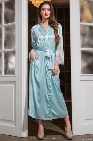Длинный халат Mia-Amore 3199 CHANTA(70% шелк)