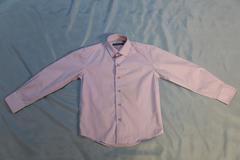 Рубашка для мальчика. Цвет лиловый. Производство ТМ Platin.