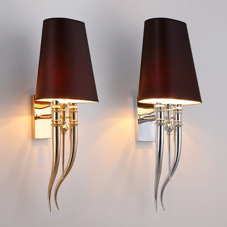 Настенный светильник копия Brunilde by Ipe Cavalli H92 (черный)