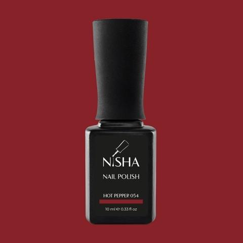 Гель-лак Nisha Hot Pepper 054