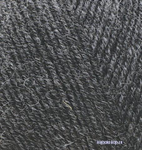 Пряжа Lanagold FINE (Alize) 521 темно-серый, фото