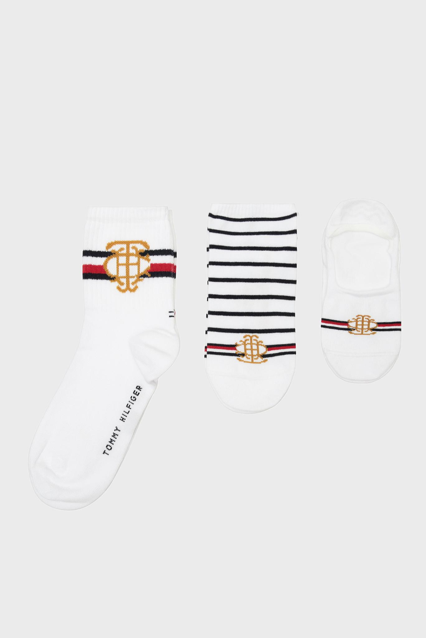 Женские хлопковые носки (3 пары) Tommy Hilfiger