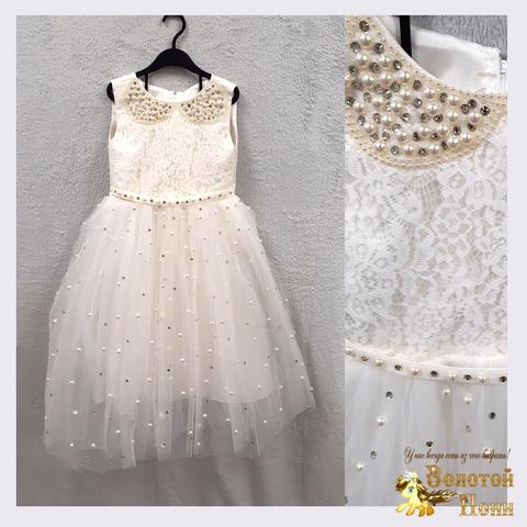 Платье на корсете девочке (5-7) 201130-OF4426