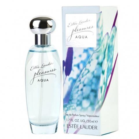 Estee Lauder: Pleasures Aqua женская парфюмерная вода edp, 50мл