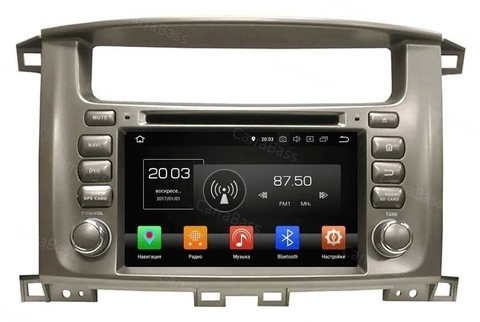 Магнитола Toyota Land Cruiser 100 2003-2007 Android  10  4/64GB IPS DSP модель  KD-7020PX5