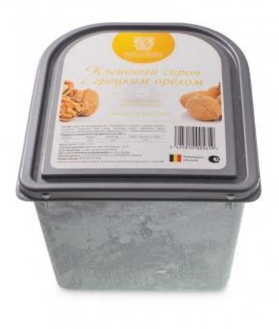 Мороженое с грецким орехом и кленовым сеиропом Фрутта Дольче 2,4 литра (Бельгия)