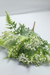 Искусственная зелень ПИЖМА, 5 веток, 30 см.