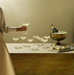 Бокал-креманка Champagne Coupe 200 мл, фото 3