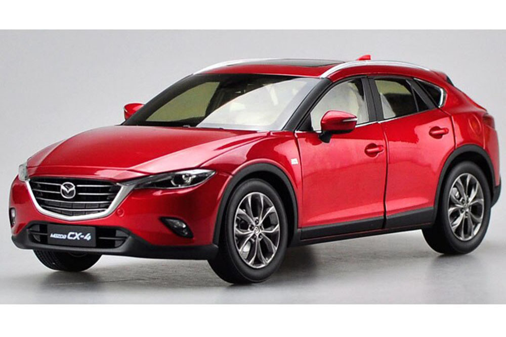 Коллекционная модель MAZDA CX-4 2018 RED