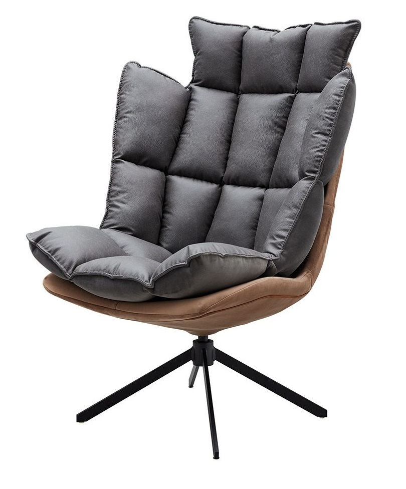 Дизайнерское кресло DC-1565G коричневый (BROWN)