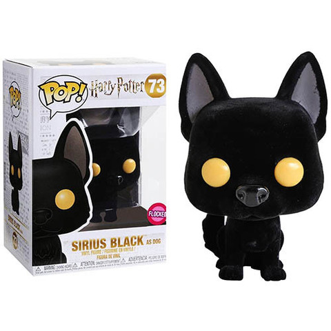 Sirius Black as Dog Flocked Exclusive (Harry Potter) Funko Pop!