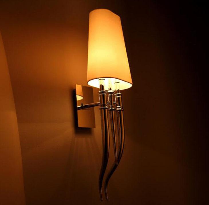 Настенный светильник копия Brunilde by Ipe Cavalli H52 (красный)