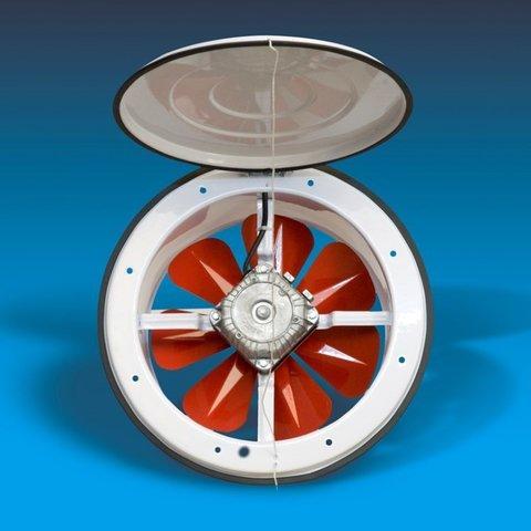 Осевой приточный оконный вентилятор Bahcivan BK 300