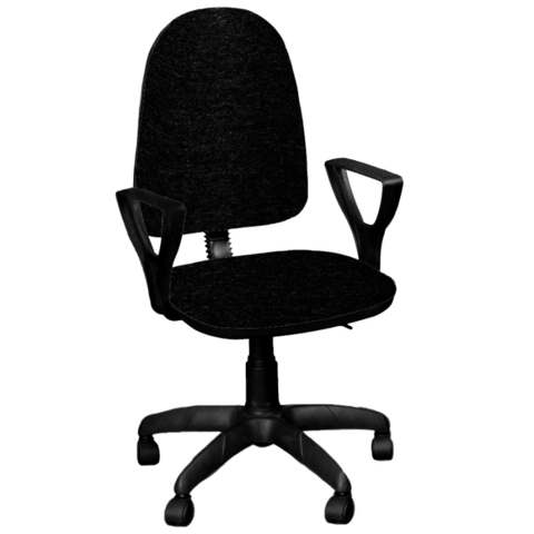 Кресло ПРЕМЬЕР 1 газлифт ткань черная