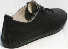 Женские мокасины из натуральной кожи Evromoda 115 Black