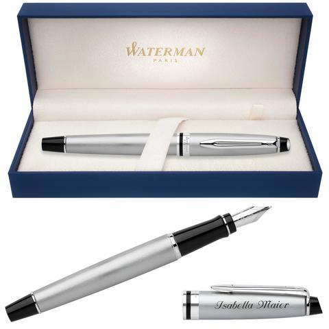 Перьевая ручка Waterman Expert 3, цвет: Stainless Steel CT, перо: F123