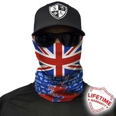 Бандана-труба SA United Kingdom Graphic Flag (с флагом)