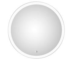 Зеркало ESBANO ES-2481FD 68 см, со встроенной подсветкой