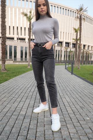 Короткие серые джинсы nadya