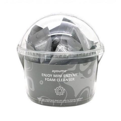Ayoume Enjoy Mini Enzyme Foam Cleanser энзимная пенка для умывания в пирамидках