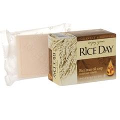 Mыло туалетное с экстрактом Рисовых отрубей Lion Rice Day 100 гр