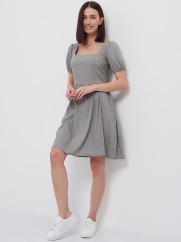 BM Платье Каре Оливка