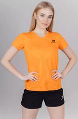 Элитная женская футболка Nordski Оrnament Orange W