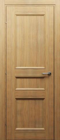 Дверь 3343 (орех бискотто, глухая CPL), фабрика Краснодеревщик