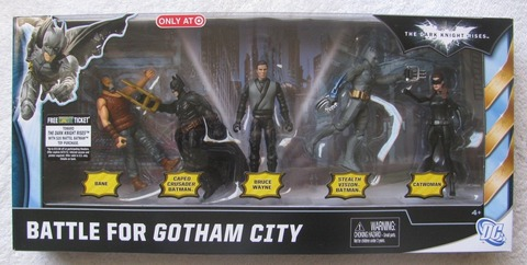 Dark Knight Rises Battle For Gotham Figure Pack Exclusive