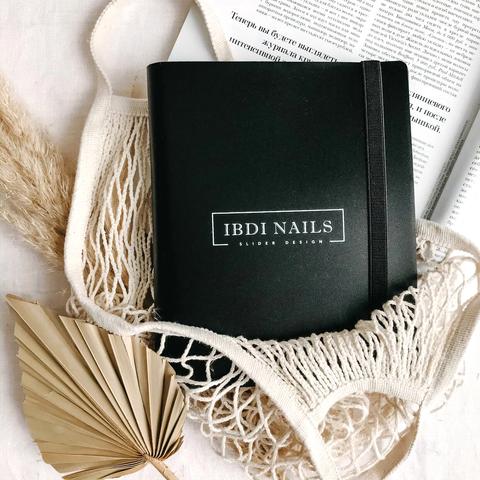 Альбом для слайдер-дизайна IBDI NAILS (160 карманов)