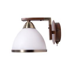 INL-9287W-01 Antique brass & Walnut