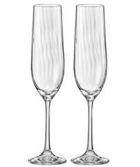 Набор бокалов для шампанского «Waterfall»  Bohemia 6 шт, 190 мл, фото 4