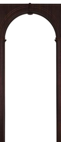 Арка межкомнатная ПВХ Арсенал, Палермо 70, цвет венге