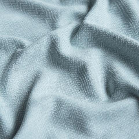 Ткань под лен Белла голубой