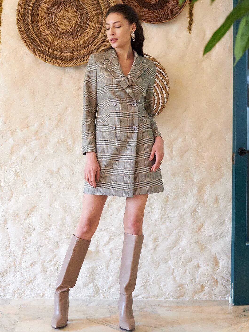 Платье-жакет