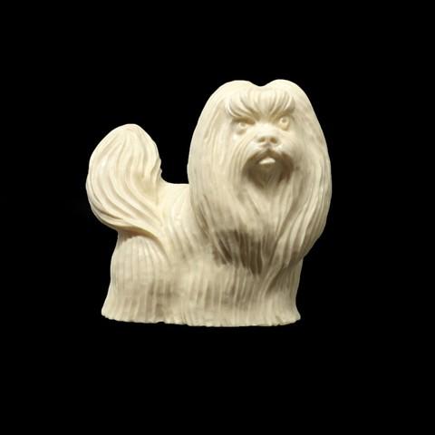 Статуэтка «Собака Ши-тцу»