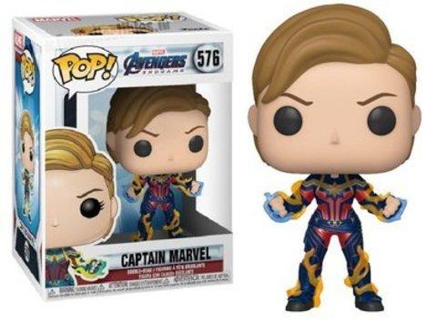 Marvel: Avengers Endgame - Captain Marvel (576) Funko Pop! Vinyl Figure || Капитан Марвел