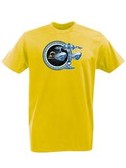 Футболка с принтом Знаки Зодиака, Весы (Гороскоп, horoscope) желтая 006